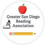 Greater San Diego Reading Association logo